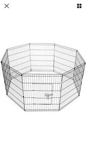 Pet Playpen Portable Exercise Cage Fence Dog Puppy Rabbit Enclosure Baldivis Rockingham Area Preview