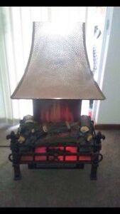 Retro 'Log Fire' Electric Heater Greenwood Joondalup Area Preview