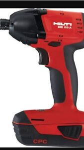 WANTED Hilti 22v impact drill Belmont North Lake Macquarie Area Preview