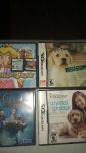 DS games including Pokémon pearl