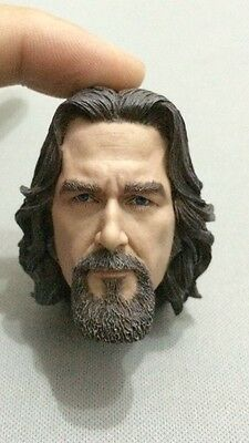 Custom Made 1/6 Big Lebowski Dude Head sculpt fit hot toys iminime body - Custom Big Heads