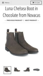Brand New Vegan Chelsea Boots from Moo Shoes