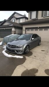 2009 C63 for sale or trade ( please read whole ad )