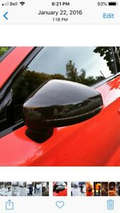 2017-2018 B9 AUDI A4 mirror covers