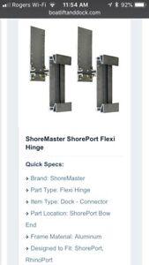 Rhinoport/Shoreport Floating dock connector/hinge