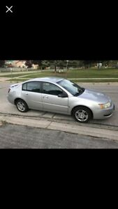 2003 Saturn ion (1 owner winter tires/rims)