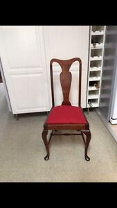Vintage early century style dining chairs x 6 Petersham Marrickville Area Preview