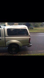 Nissan navara canopy, tub and drawers Booragul Lake Macquarie Area Preview