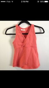 Lululemon orange tank