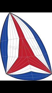Asymmetrical Spinniker