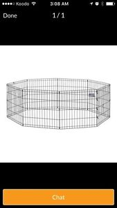ISO a rabbit cage and/or play pen