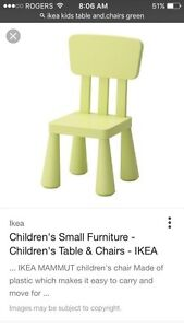 Brand new IKEA table and chairs