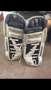 Ice hockey and ball hockey goalie pads