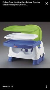 Fisher price booster seat high chair