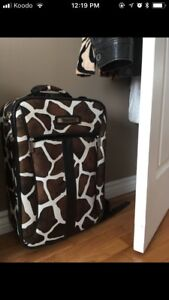 Carry on suitcase & overnight bag