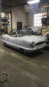 1962 Nash Metropolitan convertible