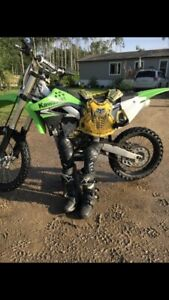 2009 Kawasaki 450f FOR SALE