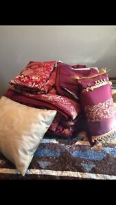 Queen comforter and additions