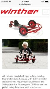 """Winther Swingcart - a unique and fun """"bicycle""""!"""