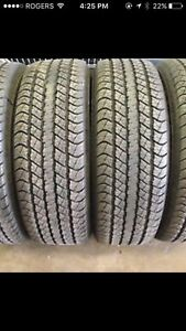 235/70/16 All Season 3 tires good condition