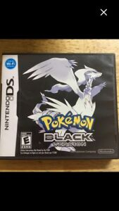 Pokemon black version Nintendo ds