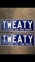 Tweaty number plates victoria neg on price Frankston Frankston Area Preview