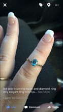 9ct gold topaz ring Busselton Busselton Area Preview