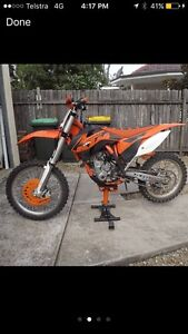 Ktm250 sxf Muswellbrook Muswellbrook Area Preview