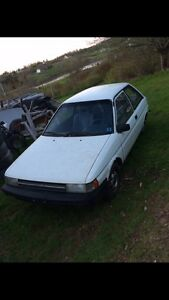 Looking for parts 87-90 Toyota Tercel Hatchback
