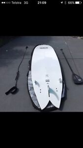 Stand up paddle board (SUP) Pelican Lake Macquarie Area Preview