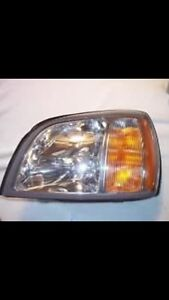 Cadillac CTS,DTS and devilled headlight unit.