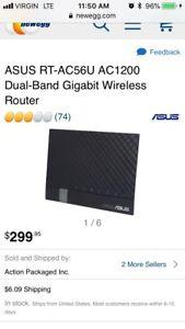 Asus Gigabit Router Rt-AC56U