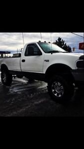 Clean lifted single cab f-150