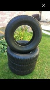 155/80R13 Michelin X Ice& New Covers