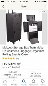 Makeup storage train case ! Need Gone !!