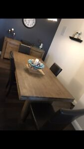 Dining Room Table & Sideboard