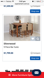 Silverwood dining table Ellenbrook Swan Area Preview