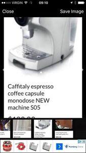 Caffitaly monodose capsule espresso étc machine S 05