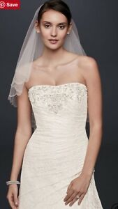 Wedding Dress - Lace Fit & Flare YP3344