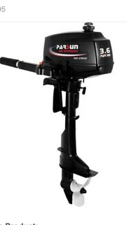 3.6HP OUTBOARD MOTOR