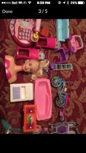 Girls toys galore!!!!!!  Barbie, Monster High, Disney, Sabrina
