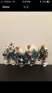 Mighty duck action figure 1990's