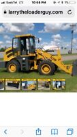 Mini loader and operator for hire