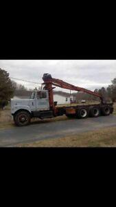 Old yard truck