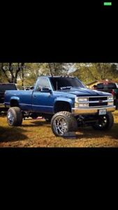 Wanted Chevy pickup