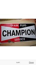 Champion spark plug sticker Shearwater Latrobe Area Preview
