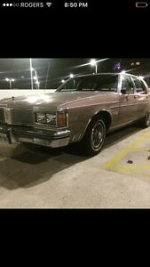 1984 Oldsmobile brougham regency ninety-eight