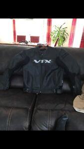 Manteau de cuir honda vtx