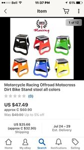Wanted dirtbike stand