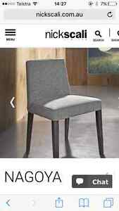 Nick Scali dining chairs Newstead Brisbane North East Preview